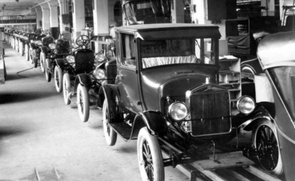 Ford Modelo T versus Producción Lean